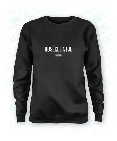 Rosékleintje - Dames Sweater