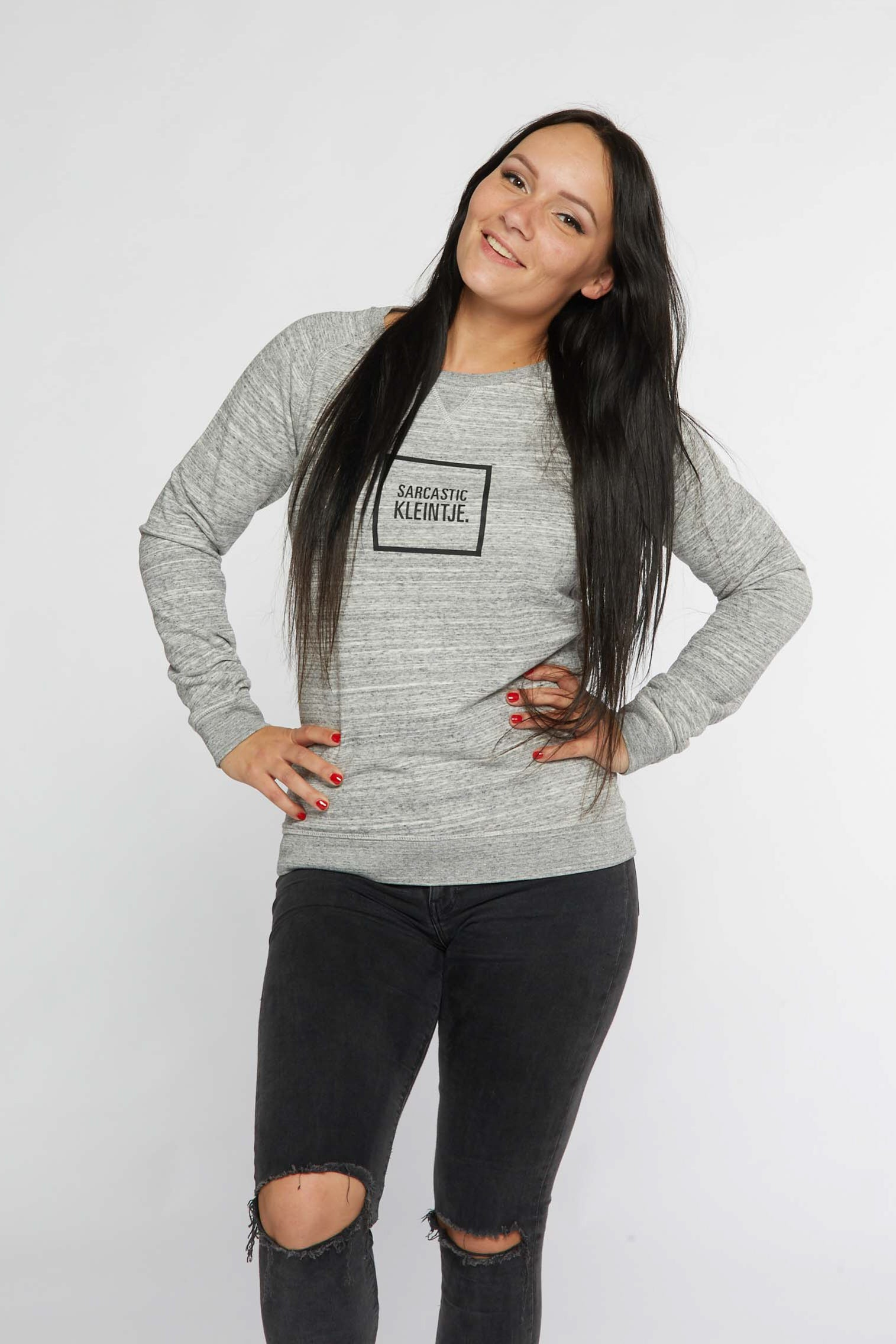 'Sarcastic' Dames Sweater