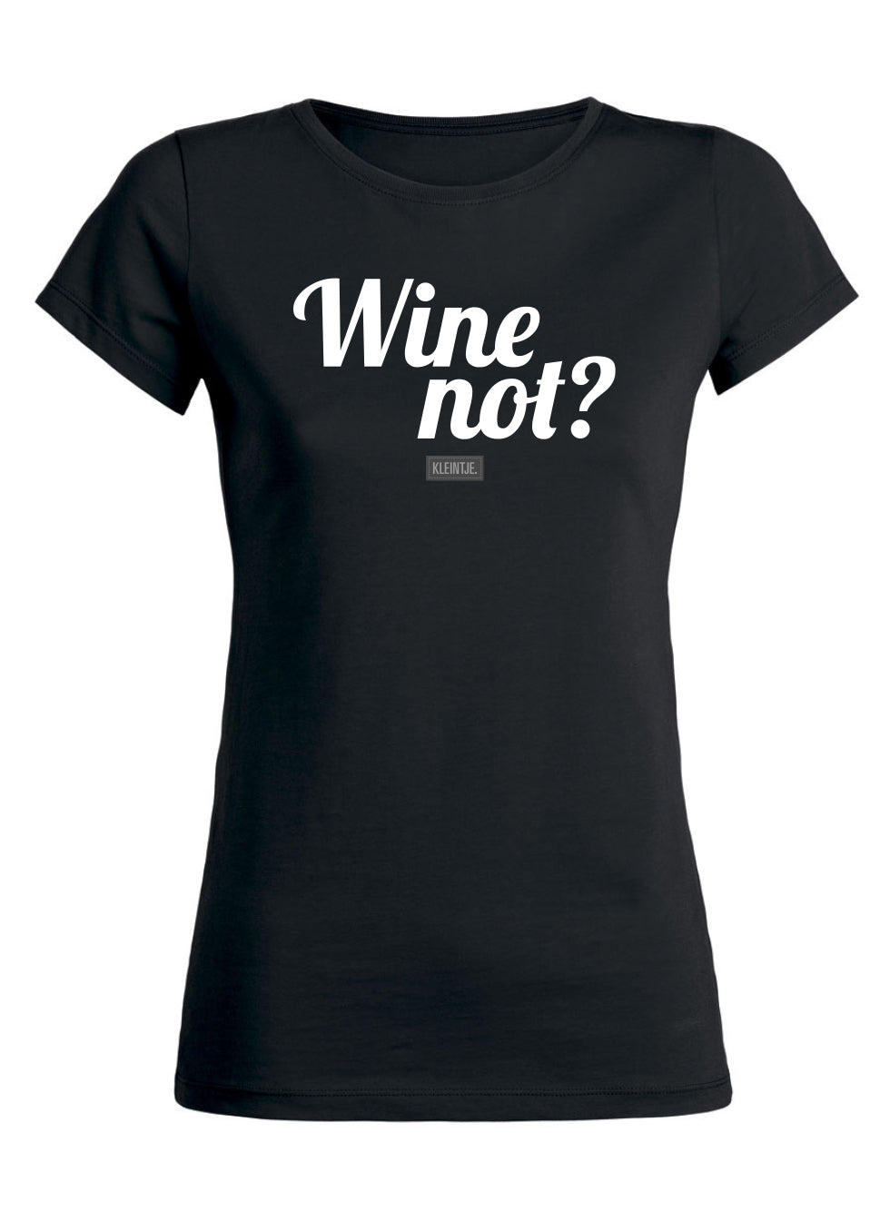'Wine Not' Shirt Dames