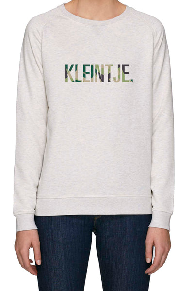 SPECIAL EDITION 'Kleintje Camo' Dames Sweater