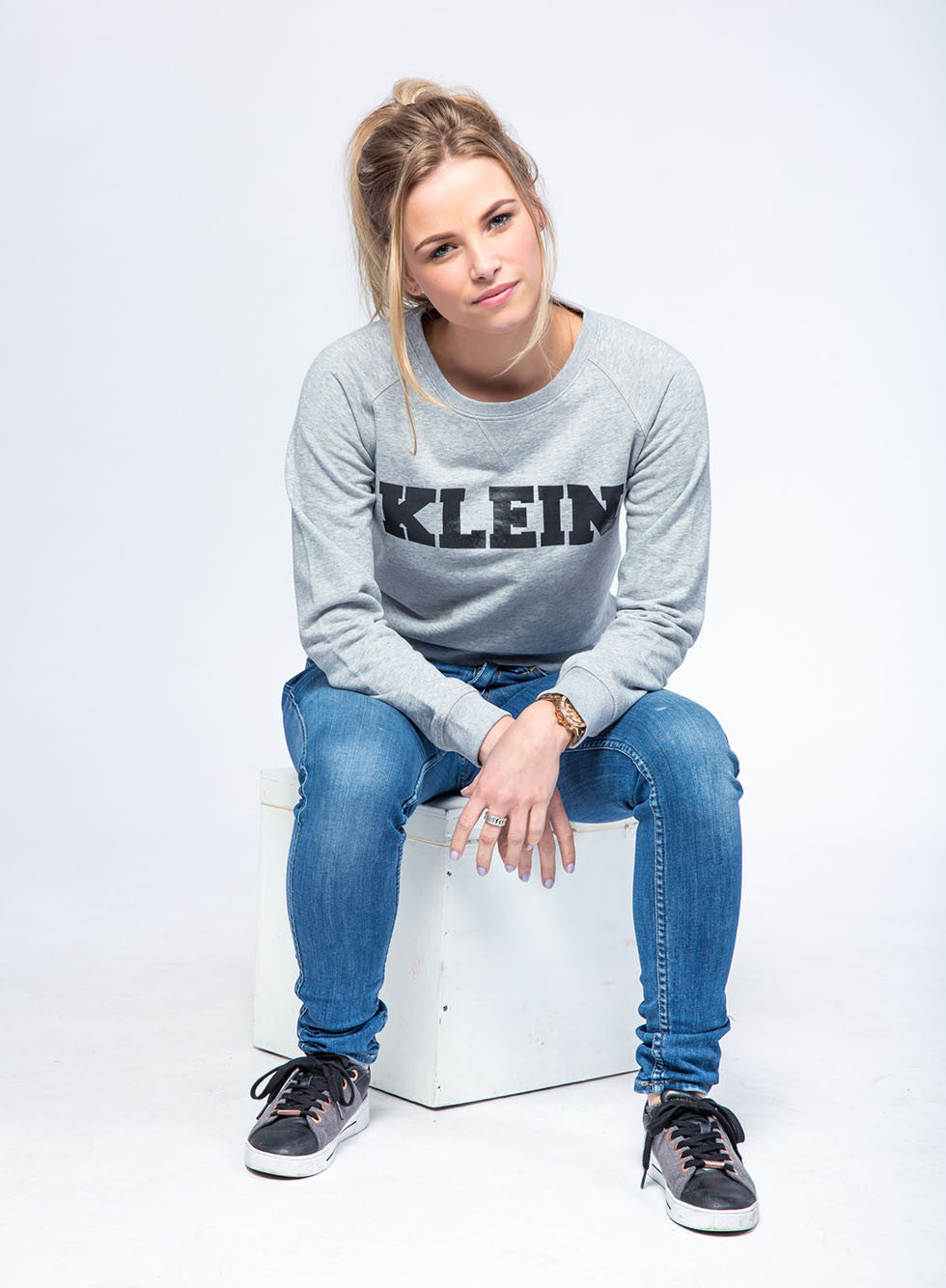 KLEIN Dames Sweater - Grey