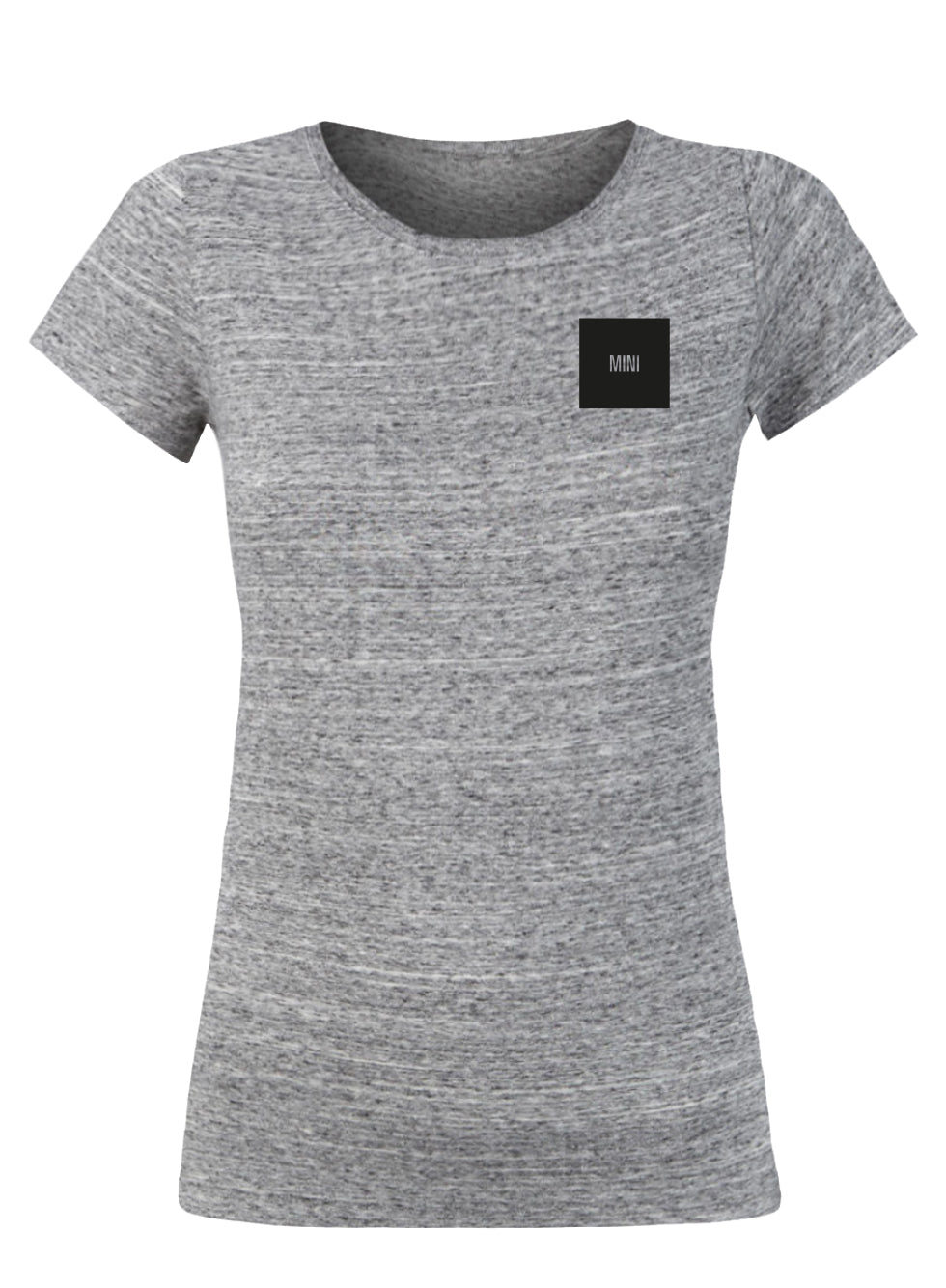 """Mini square"" T-shirt dames"