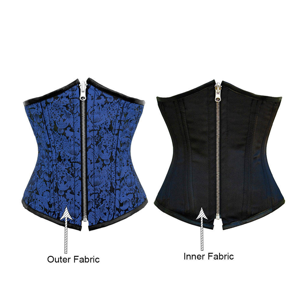 Alynna Reversible Waist Training Corset - Corsets Queen US-CA