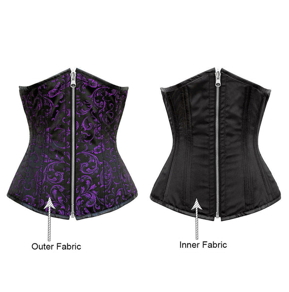 Amairani Reversible Waist Training Corset - Corsets Queen US-CA