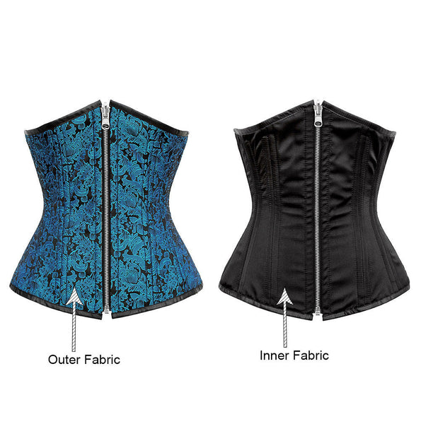 Amairany Reversible Waist Training Corset - Corsets Queen US-CA