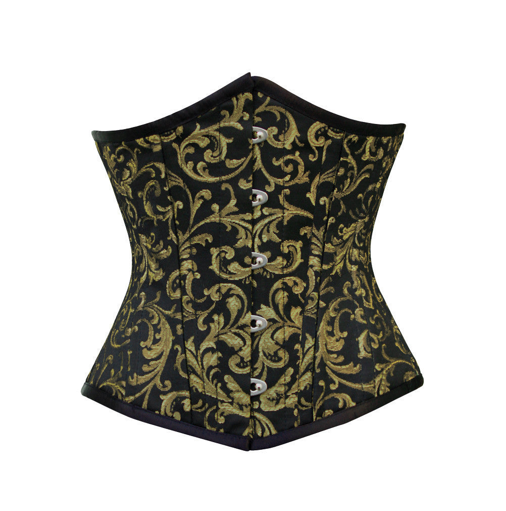 WT-UB GOLD/BLACK BRO-200 - Corsets Queen US-CA
