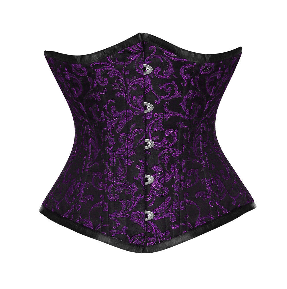 WT-UB PURPLE/BLACK BRO-200 - Corsets Queen US-CA