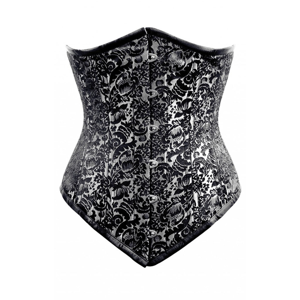 WT-UB LONGER SILVER BRO-100 - Corsets Queen US-CA