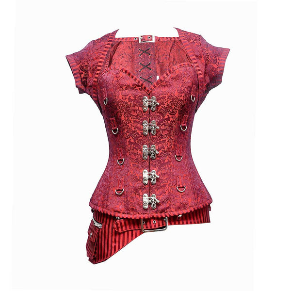 Caterina Steampunk Overbust Corset - Corsets Queen US-CA