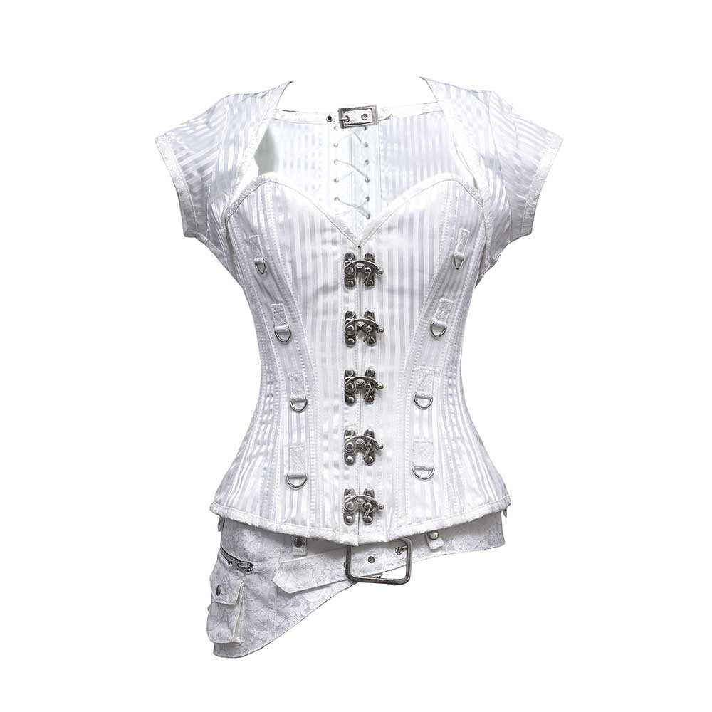 Catherine Steampunk Overbust Corset