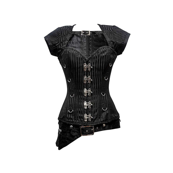 Cheyanne Steampunk Overbust Corset - Corsets Queen US-CA