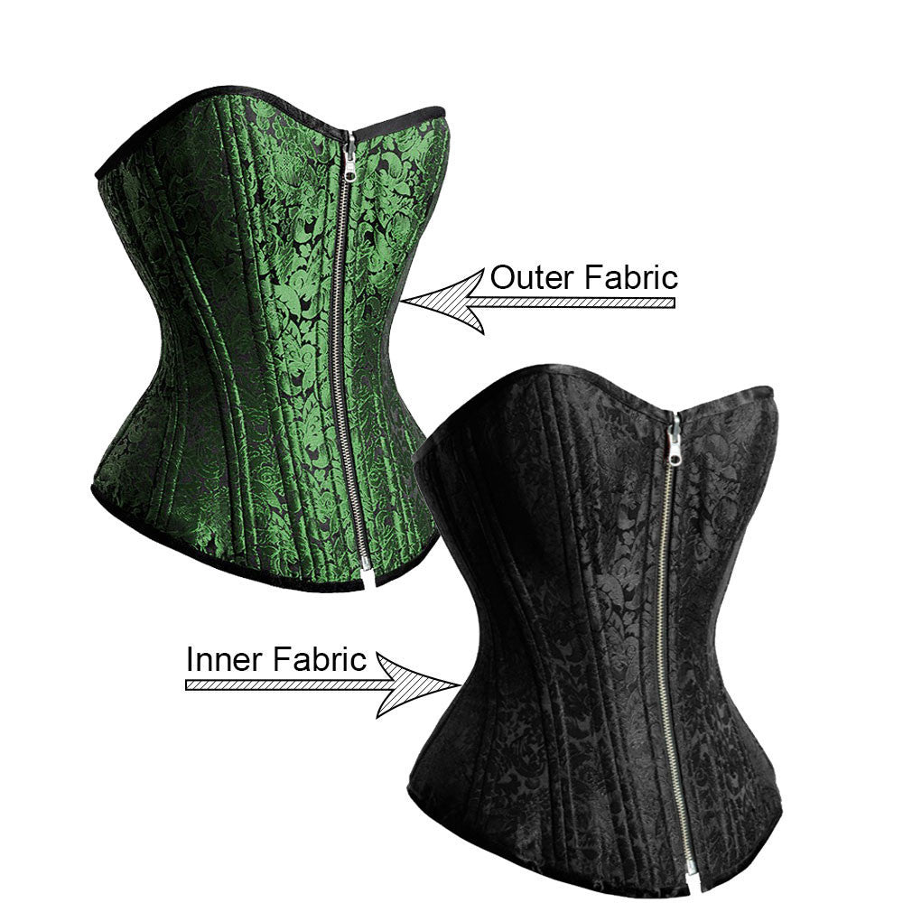 Dominique Reversible Waist Training Corset - Corsets Queen US-CA