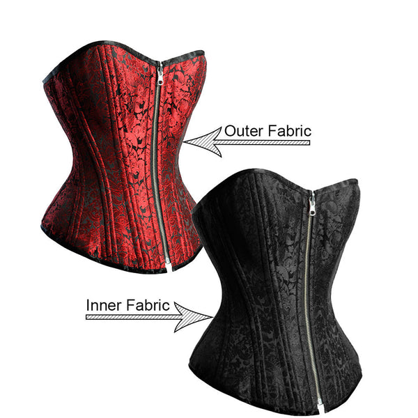 Donna Reversible Waist Training Corset - Corsets Queen US-CA