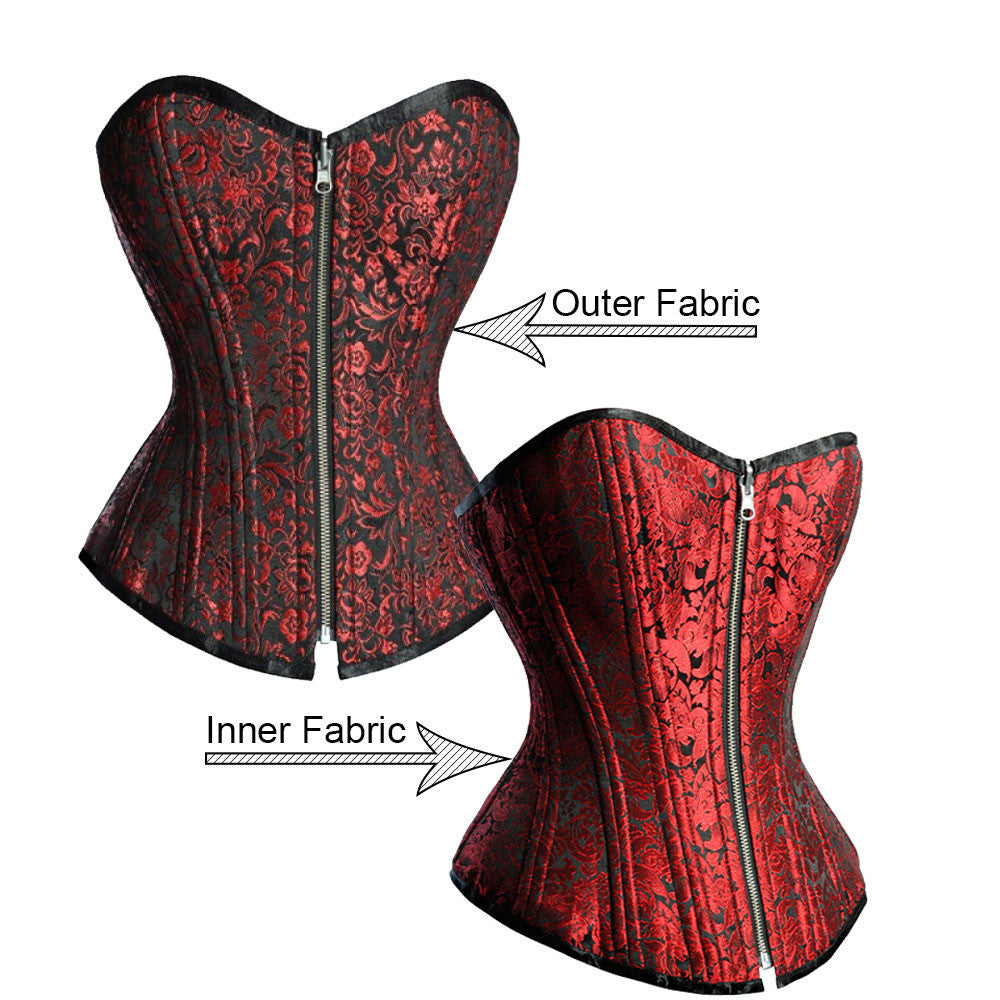 Edith Custom Made Corset - Corsets Queen US-CA