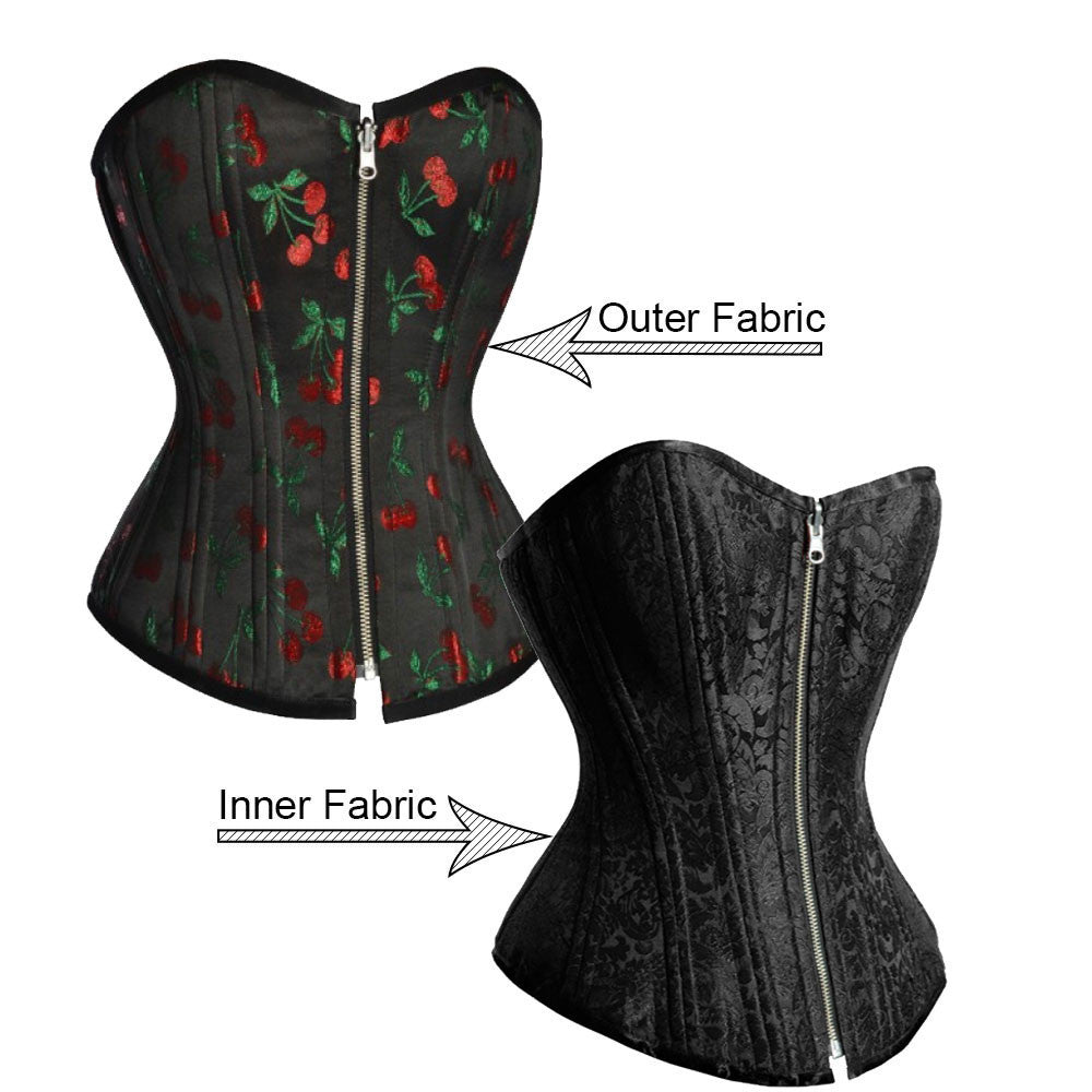 Elaine Custom Made Corset - Corsets Queen US-CA