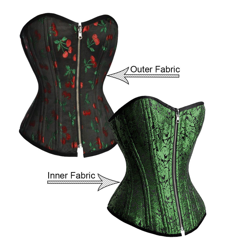 Elayna Custom Made Corset - Corsets Queen US-CA