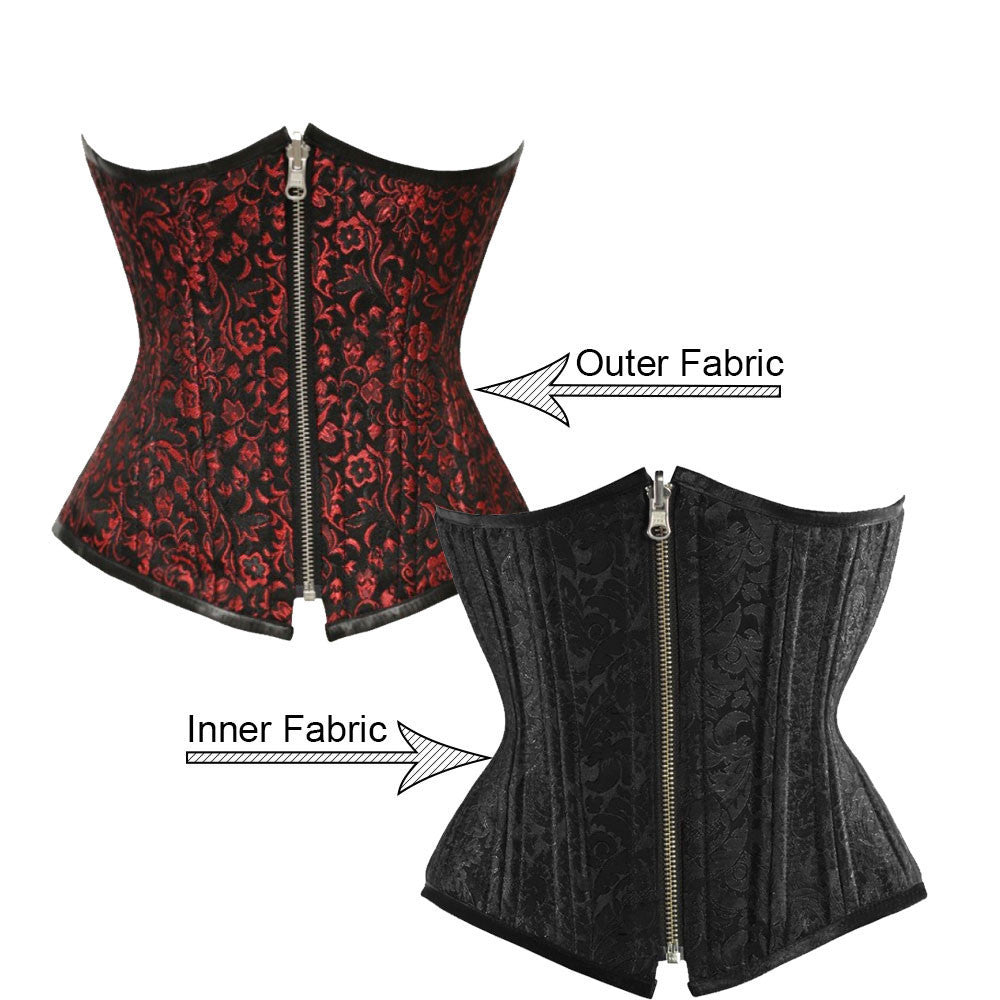 Eliana Custom Made Corset - Corsets Queen US-CA