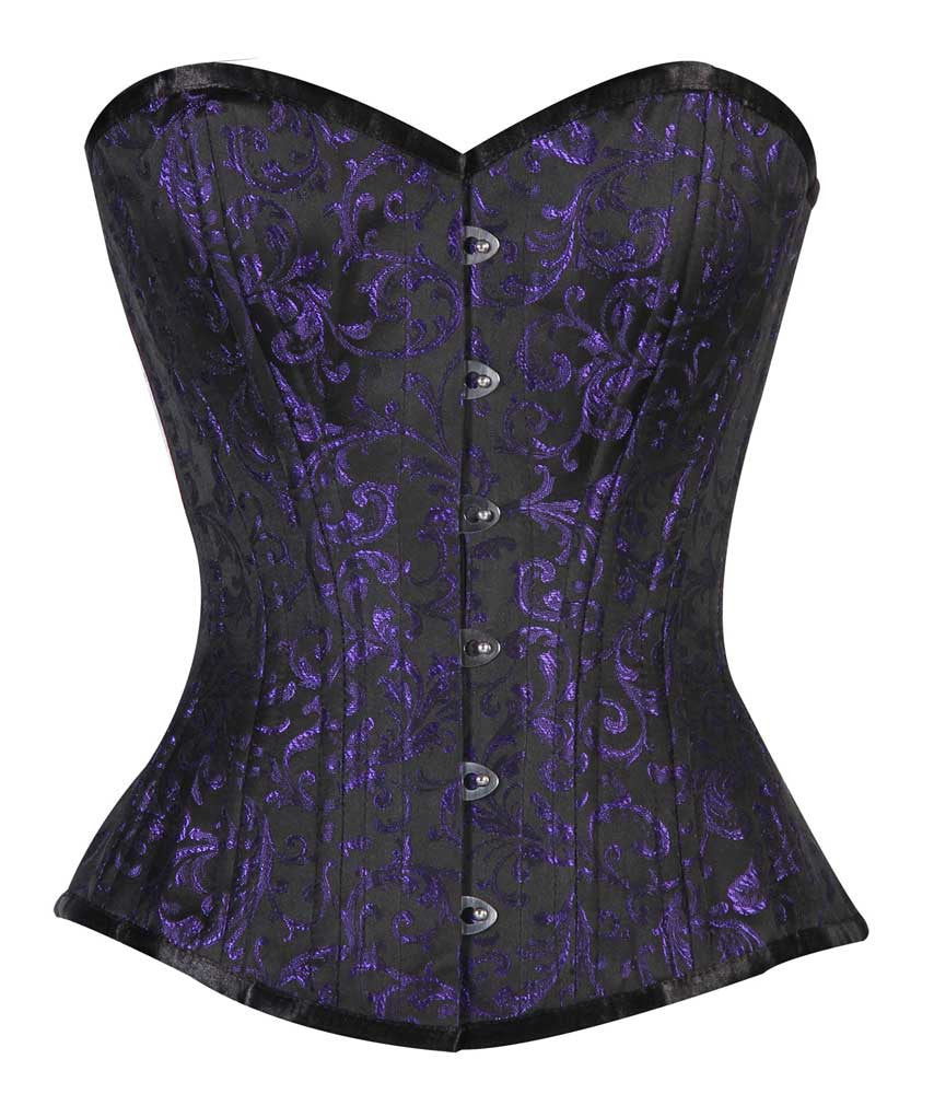 WT-OB BLUE/BLACK BRO-200 - Corsets Queen US-CA