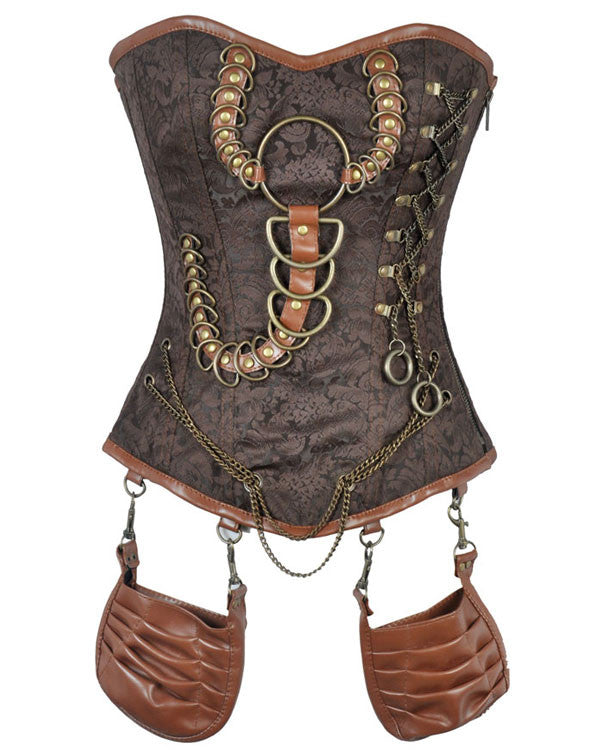 Kalani Custom Made Corset - Corsets Queen US-CA
