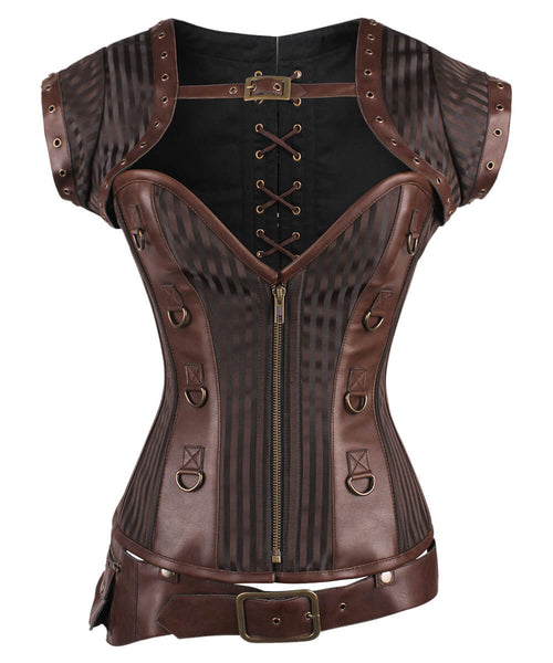 Madalyn Steampunk Overbust Corset
