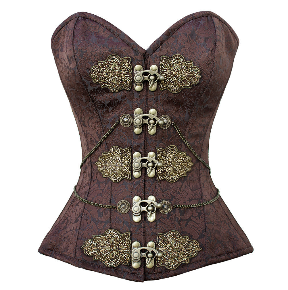 Maile Overbust Corset - Corsets Queen US-CA