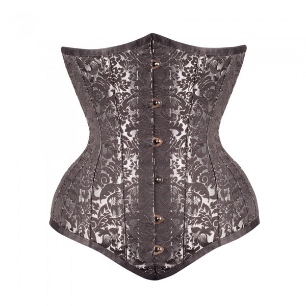 Nava Steel Boned Waist Taiming Corset With Hip Gores