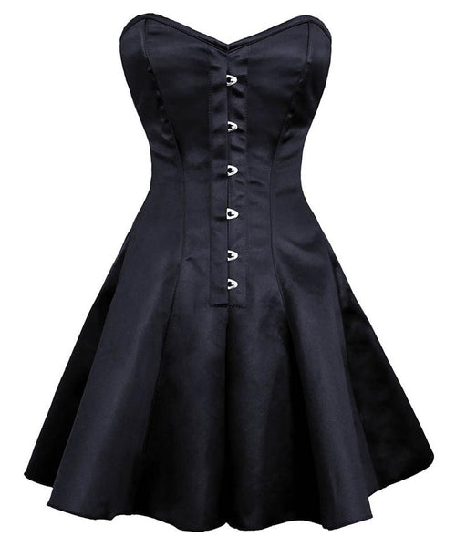 Noa Gothic Steel Boned Corset Dress