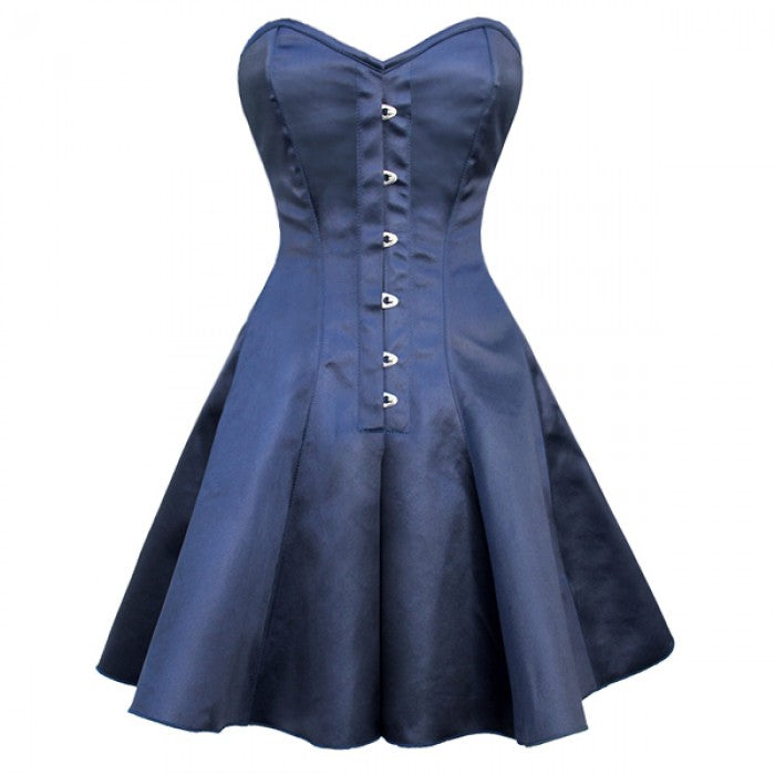 Noah Gothic Steel Boned Corset Dress - Corsets Queen US-CA