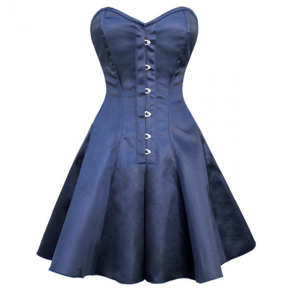 Noah Gothic Steel Boned Corset Dress