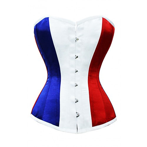 Alarice France Flag Corset - Corsets Queen US-CA