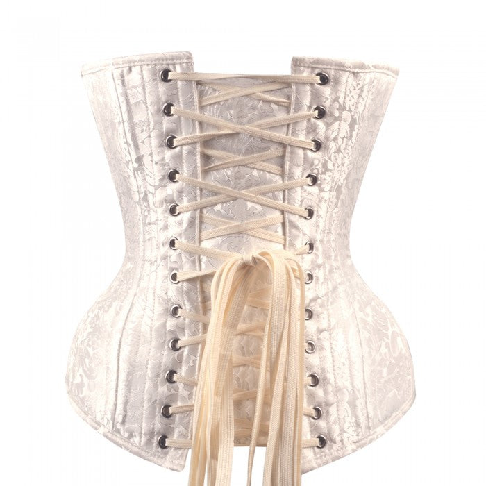 bfb466664e Josiah White Brocade Bridal Overbust Corset View larger. Previous. Next