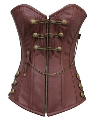 Beth Steampunk Overbust Corset