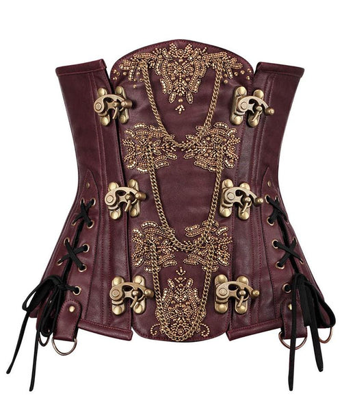 Akerman Steampunk Couture Corset - Corsets Queen US-CA