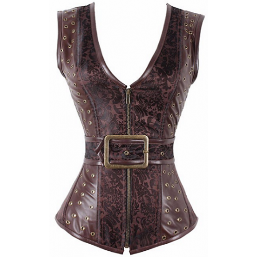 Ayim Steampunk Steel Bone Corset - Corsets Queen US-CA