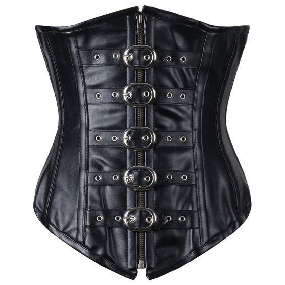 Antonio Real Leather Underbust Corset