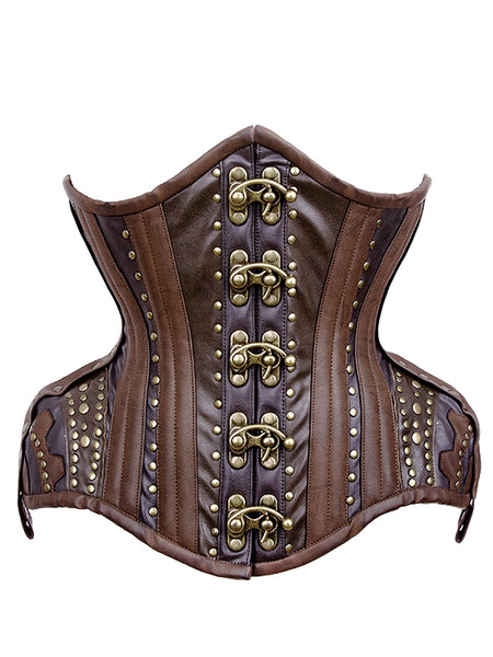 Bellisa Steampunk Curvy Waist Training Corset - Corsets Queen US-CA