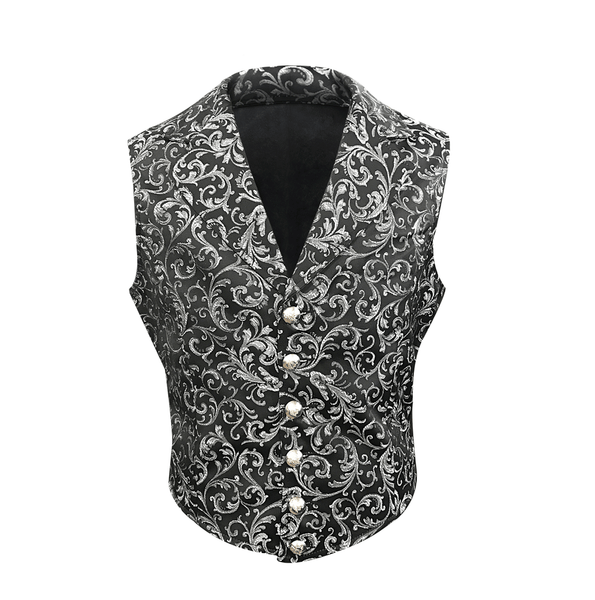 Adams Brocade Waist Coat - Corsets Queen US-CA