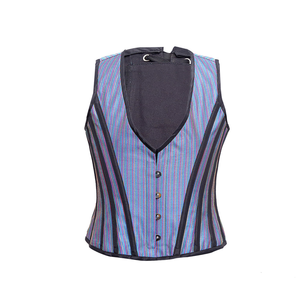 Jaffery Taffeta Waist Coat - Corsets Queen US-CA