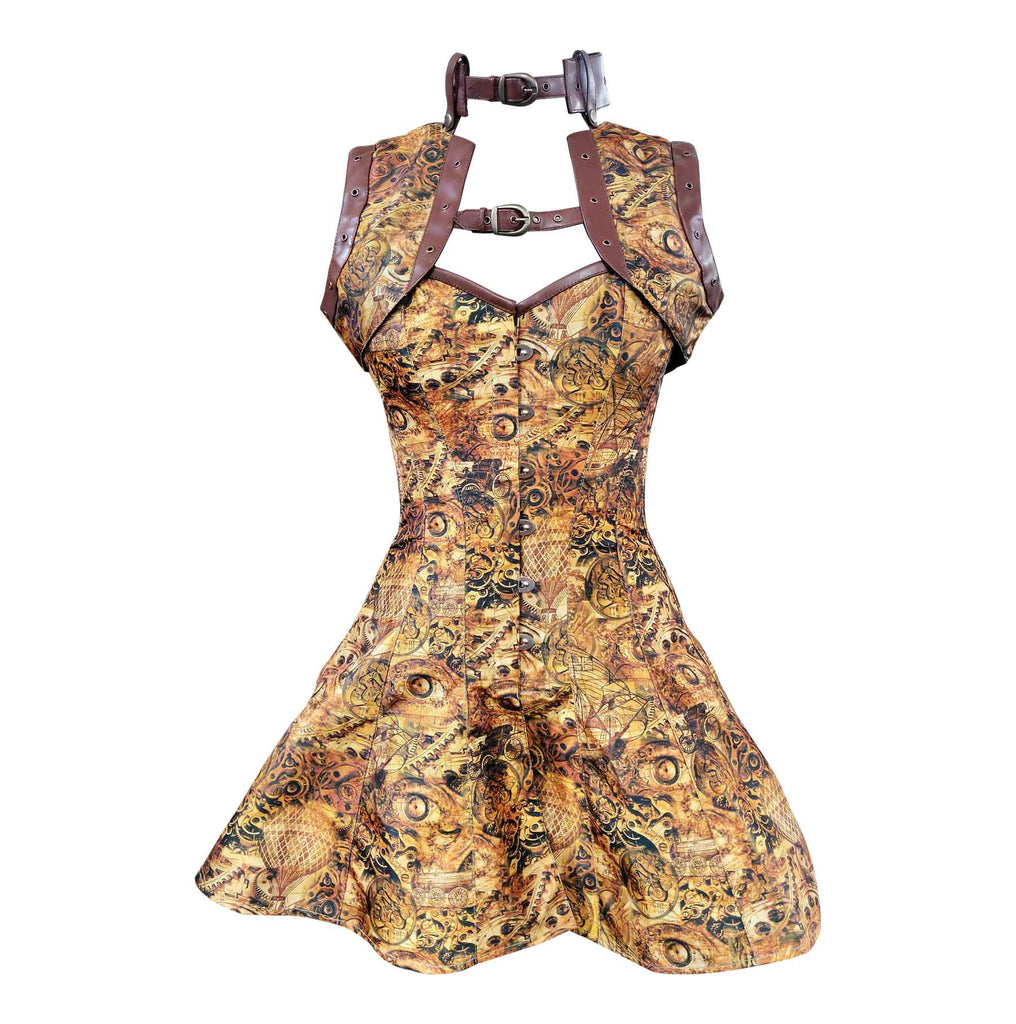 Zong Steampunk Corset Dress - Corsets Queen US-CA