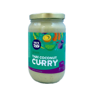 Yai's Thai Green Coconut Curry (454g) - Pure Naturals and Organics
