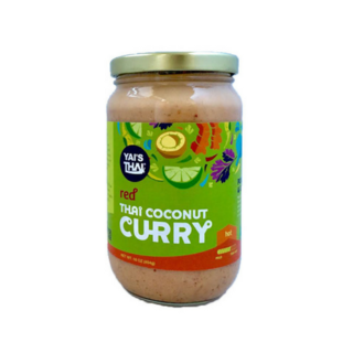 Yai's Thai Red Coconut Curry (454g) - Pure Naturals and Organics