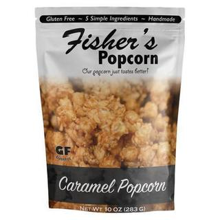 Fisher's Popcorn Large Caramel (282g) - Pure Naturals and Organics