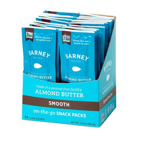 Barney Butter Smooth  - On the Go - 17g/24 in a box | PURE Naturals and Organics
