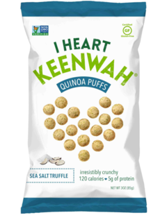 Quinoa Puffs Sea Salt Truffle (85g) - Pure Naturals and Organics
