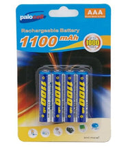 4 Pack Palocell Rechargeable Batteries 1100 NIMH Mah
