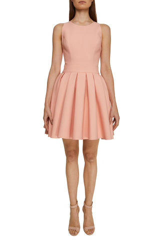 Salmon Mini Dress