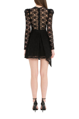 Bonnie Black Dress With Lace