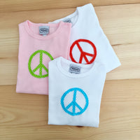 Peace Tee Size 10