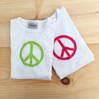 Peace Tee Size 8