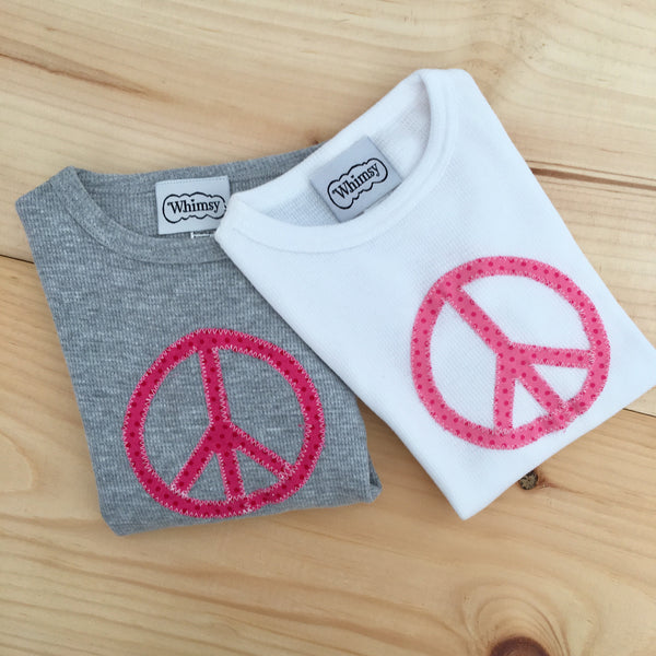 Peace Tee Size 2